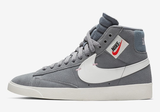 The Nike Blazer Mid XX Rebel To Release In Grey