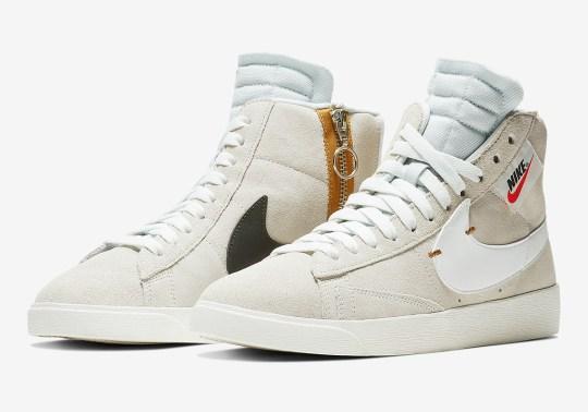 The Nike Blazer Mid Rebel Returns In Off White Hues