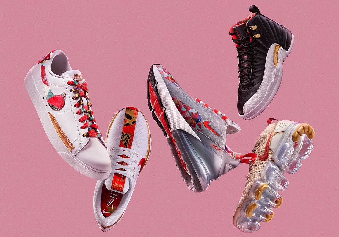 Image result for Nike Unveils Full Chinese New Year Collection