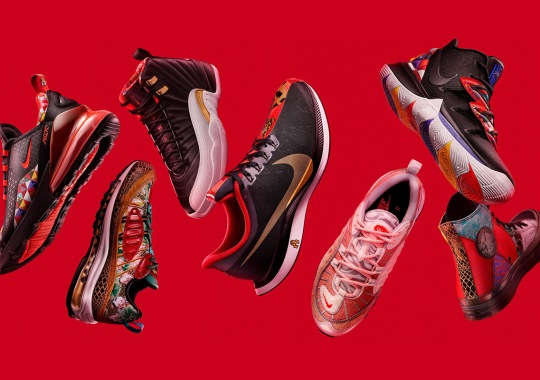 "Nike Unveils The CNY ""Year Of The Pig"" Collection"