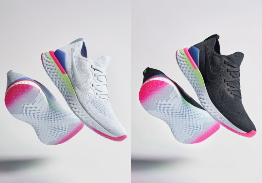 Here's When You Can Buy The Nike Epic React Flyknit 2