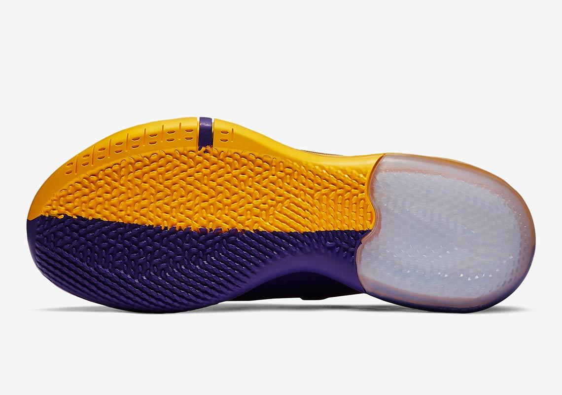 quality design 2bc50 da071 Nike Kobe AD Lakers Pack Gold Purple Release Info ...