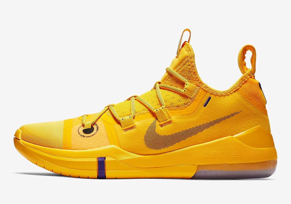 e6211e126742 Nike Kobe AD  140. Color  Amarillo Court Purple Black