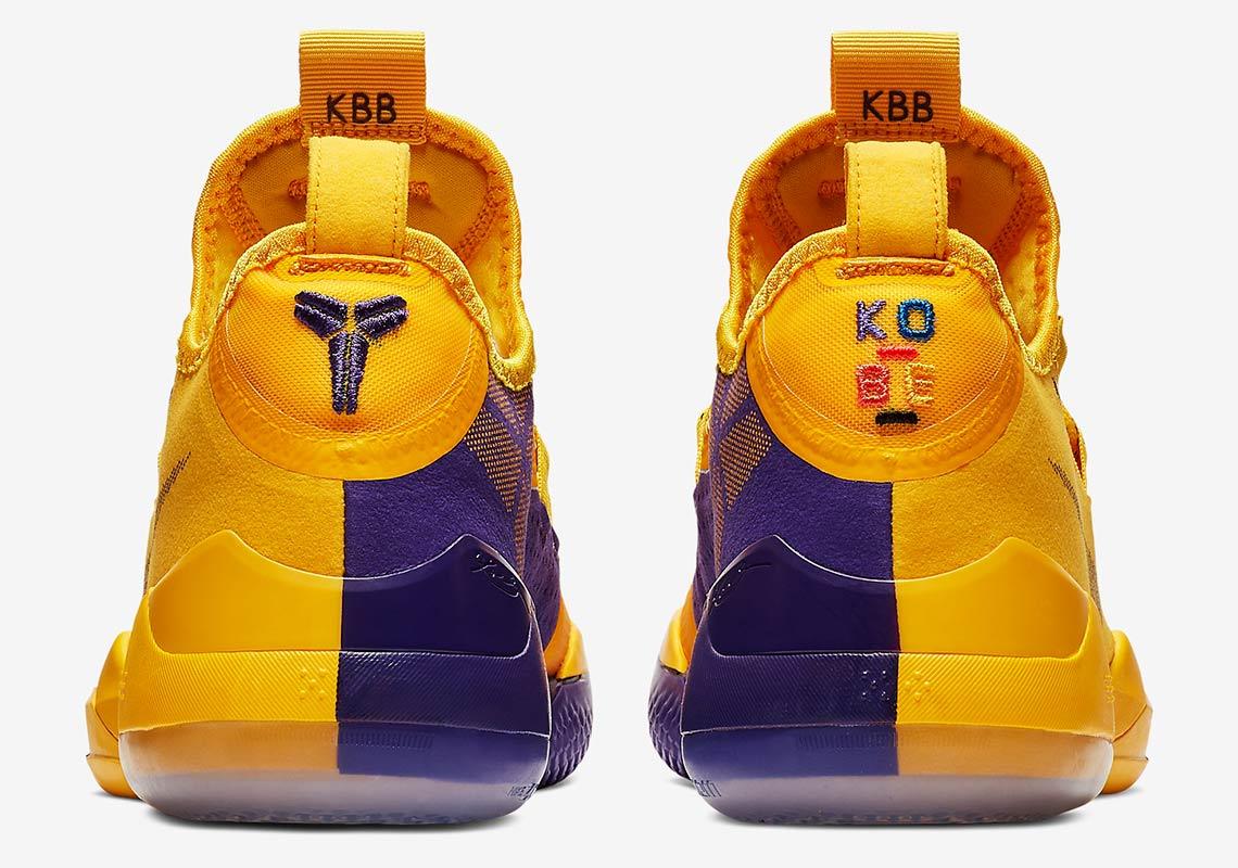 Nike Kobe AD Lakers Pack Gold Purple