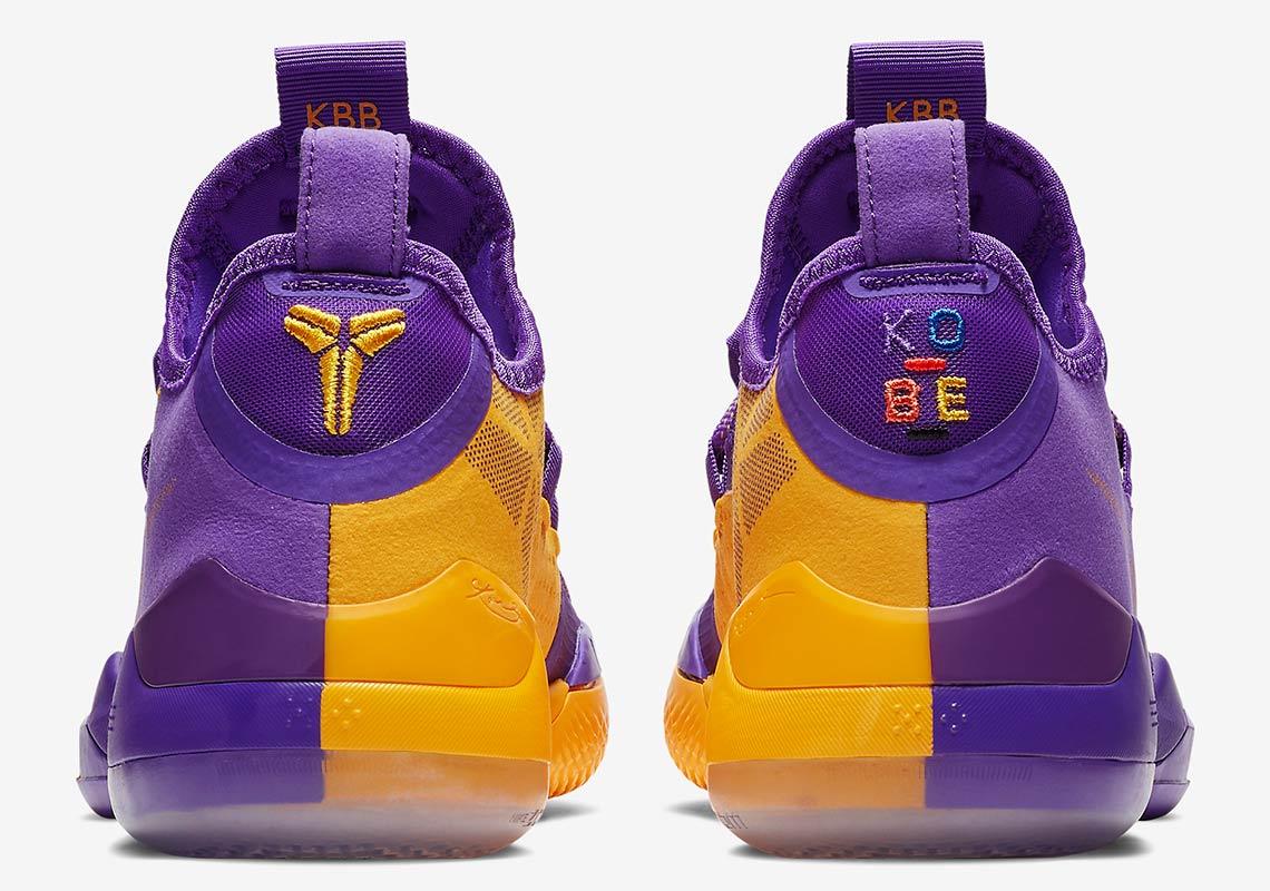huge discount 95794 079fa Nike Kobe AD Lakers Pack Gold Purple Release Info   SneakerNews.com