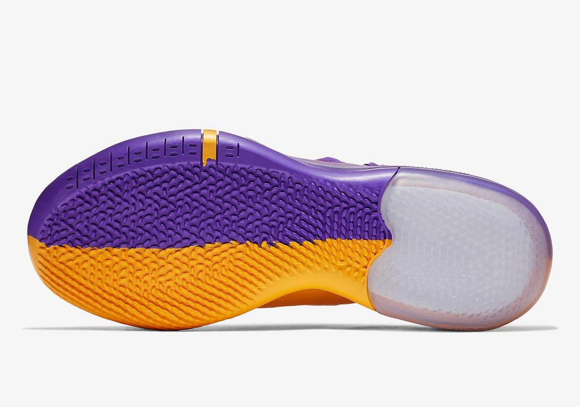 Nike Kobe Ad Lakers Pack Gold Purple Release Info Sneakernews Com
