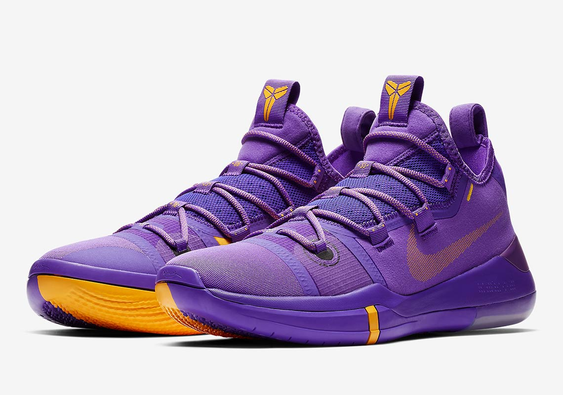 quality design 84ce0 a649d Nike Kobe AD Lakers Pack Gold Purple Release Info ...
