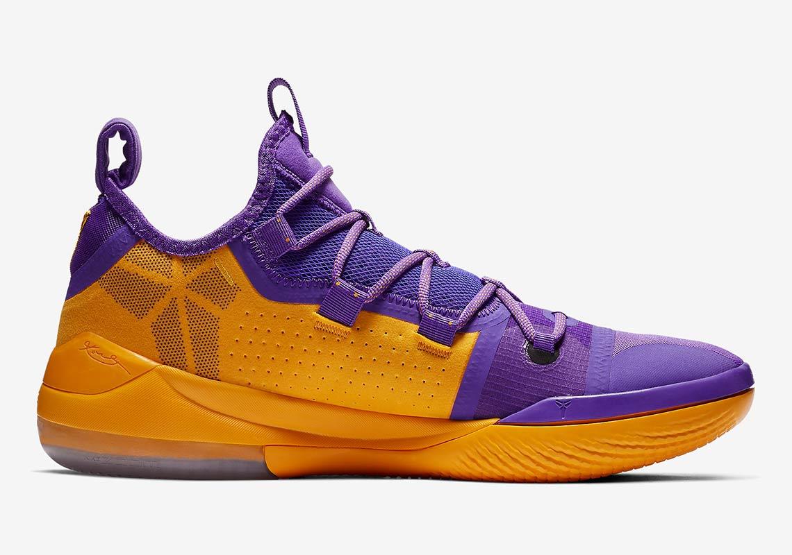 ba4e4a442ea8 Nike Kobe AD Lakers Pack Gold Purple Release Info