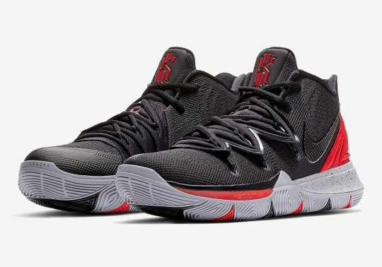 "The Nike Kyrie 5 Is Releasing In A ""Bred"" Colorway"