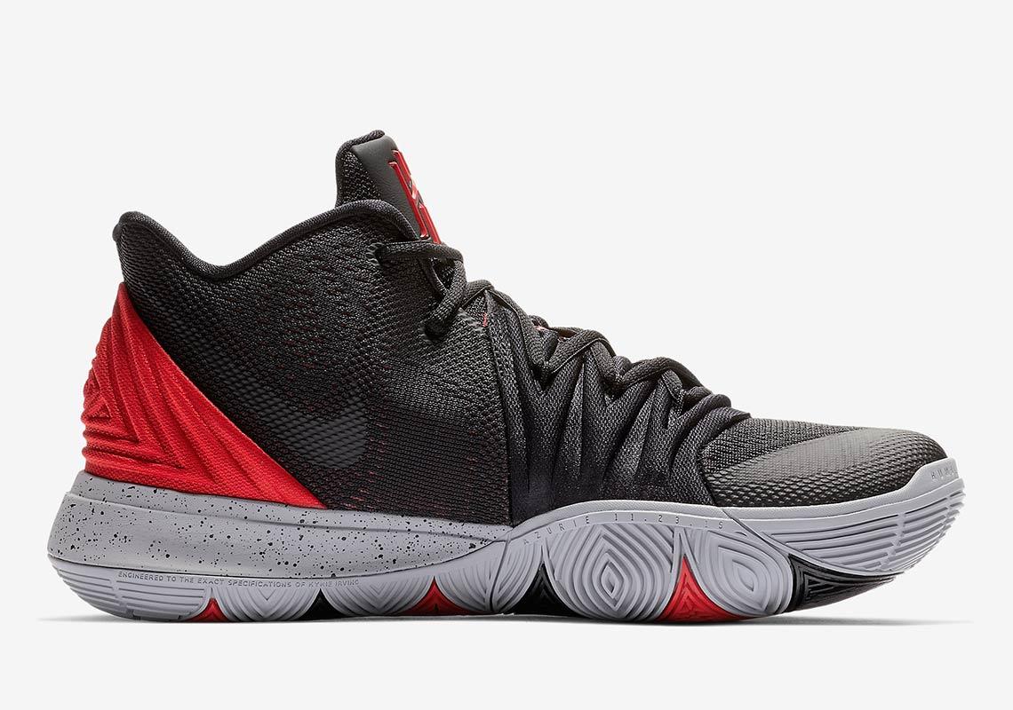 Nike Kyrie 5 Bred AO2918-600 Release
