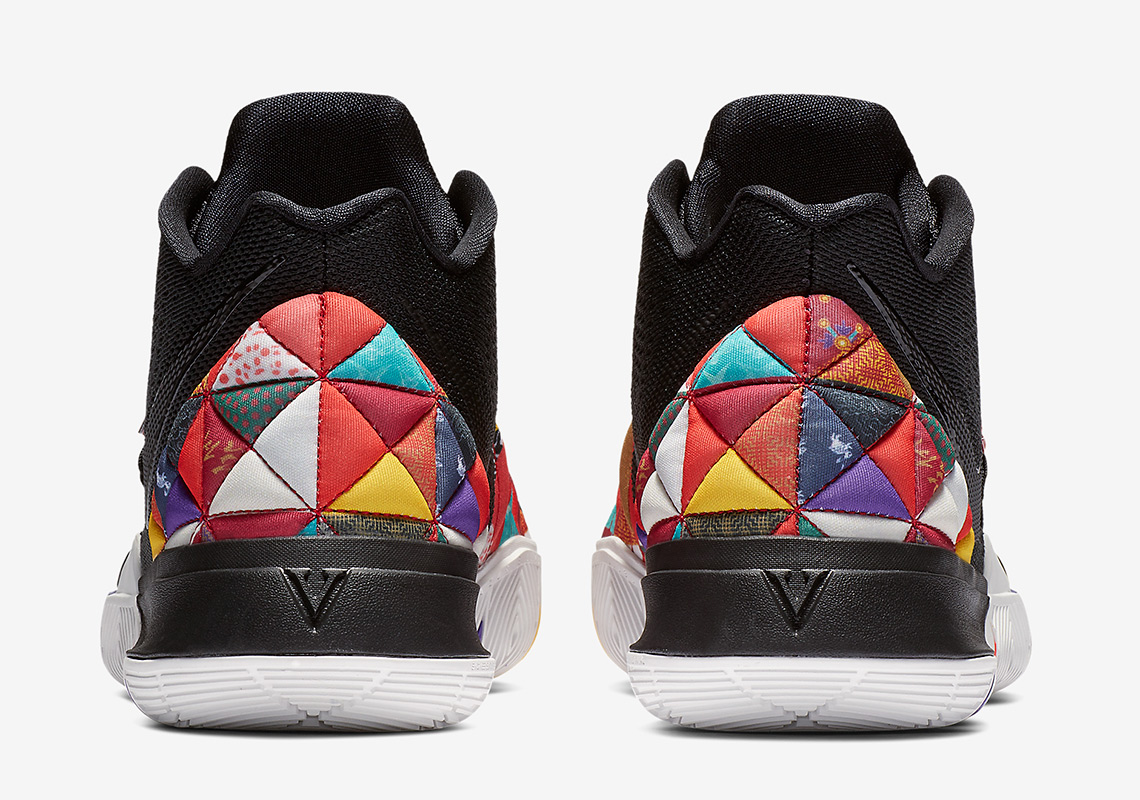 """1055da9f9403 The Nike Kyrie 5 """"Chinese New Year"""" Features Traditional Bai Jia Yi Patterns"""