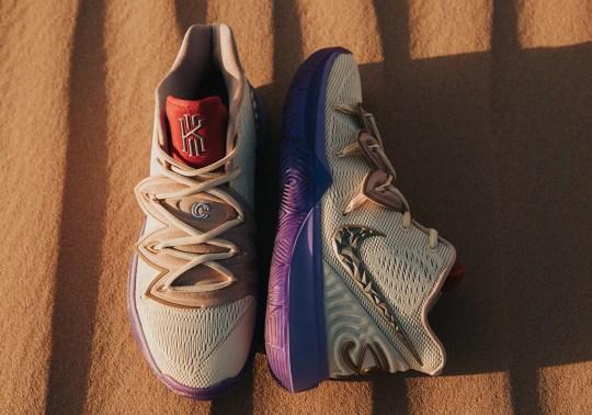 "Concepts Unveils The Nike Kyrie 5 ""Ikhet"""