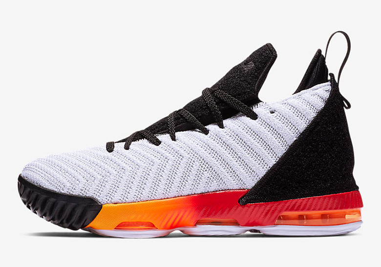 5ec68279669d0 Nike LeBron 16 Kids White + Orange Release Date | SneakerNews.com