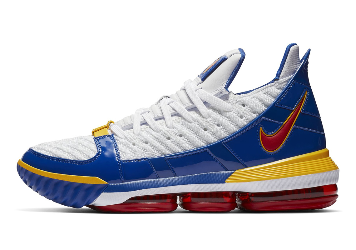 great fit 4a9d5 f7dde Nike LeBron 16 SuperBron CD2451-100 | SneakerNews.com