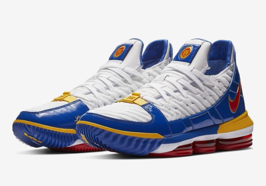 "An Official Look At The Nike LeBron 16 ""SuperBron"""