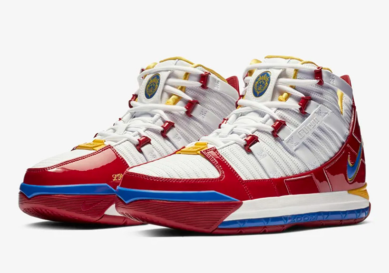 promo code 1508d 6bd30 Nike LeBron 3 Superman Alternate AO2434-100 Release Info   SneakerNews.com