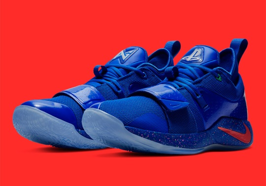 Another PlayStation x Nike PG 2.5 Appears In Royal Blue