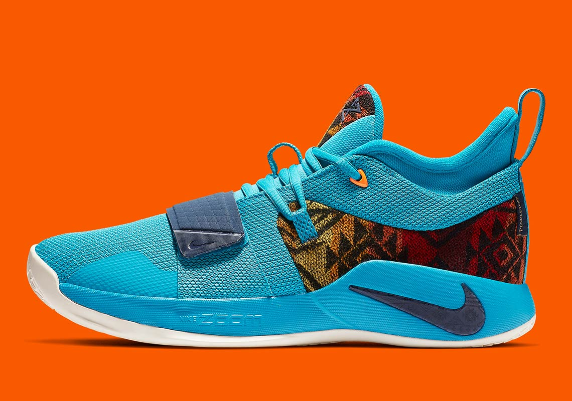 new product 6dfe4 7e620 Nike PG 2.5 Pendleton First Look + Release Info ...