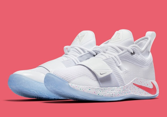 "Nike PG 2.5 ""PlayStation"" is Releasing In White"