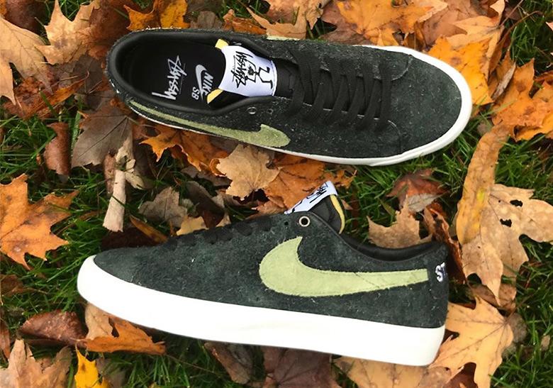 Stussy Nike SB Blazer Low Release Date