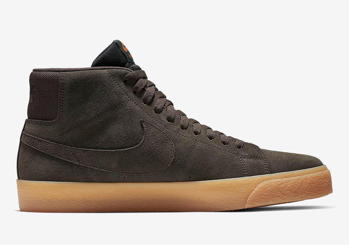 4931fe3204 Nike SB Blazer Mid Brown + Gum Release Info   SneakerNews.com