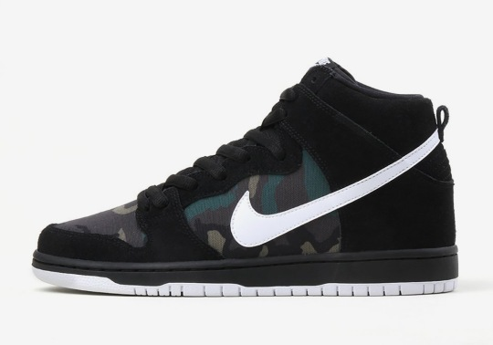Nike Adds Camo Prints To Another SB Dunk High