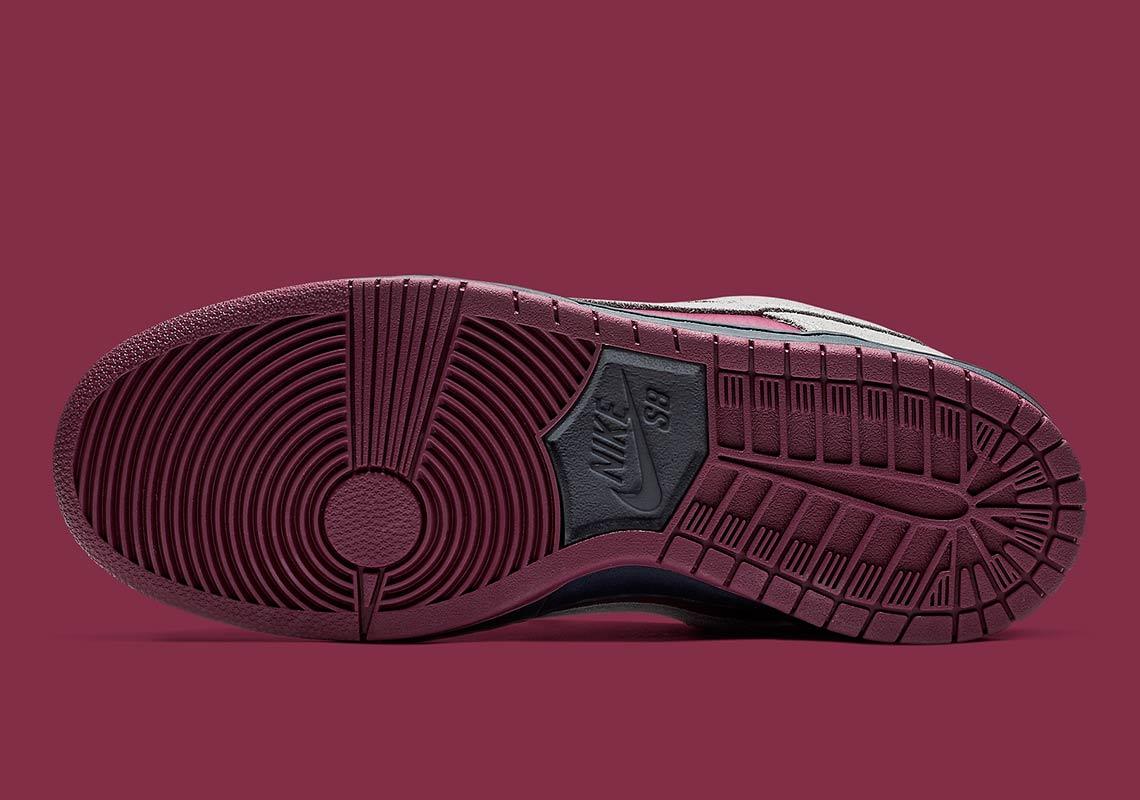 59a05f54070 Nike SB Dunk Low Maroon + Grey Release Info