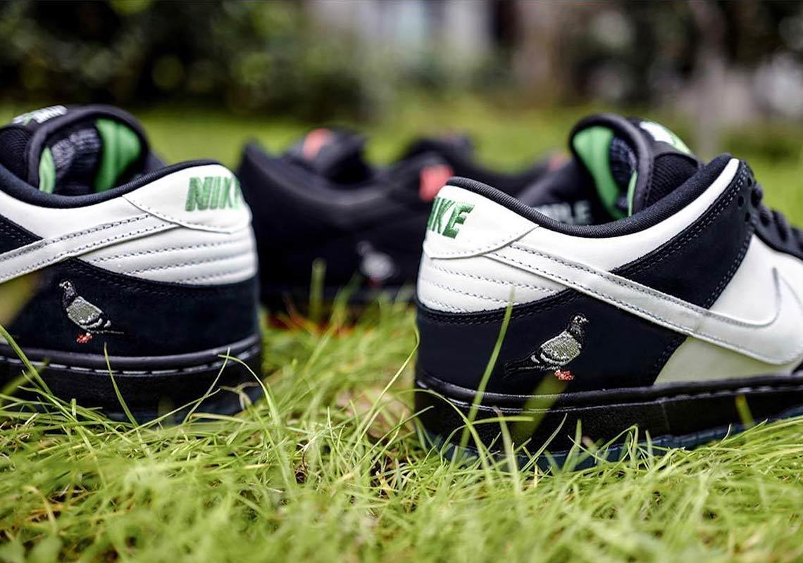 Nike SB Dunk Low Pigeon 2019 Release