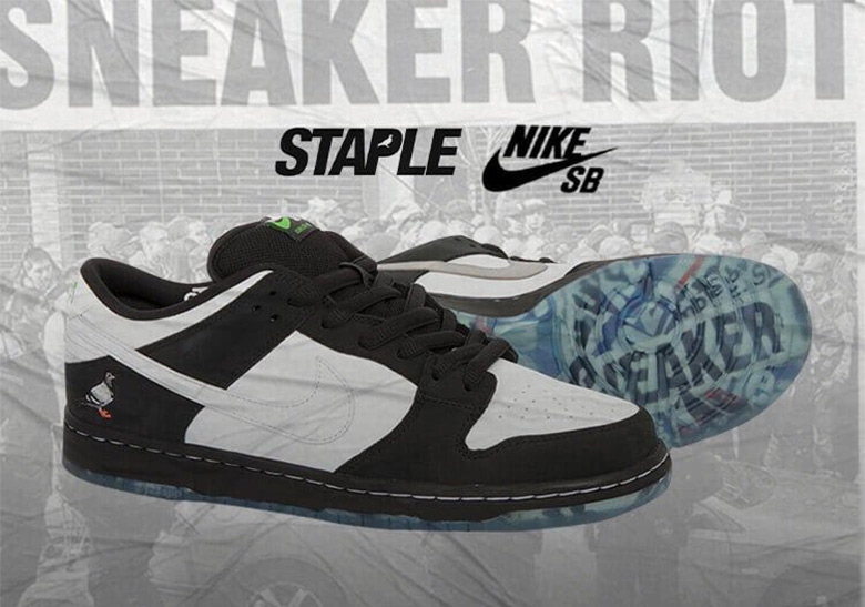 Staple Nike SB Dunk Panda Pigeon