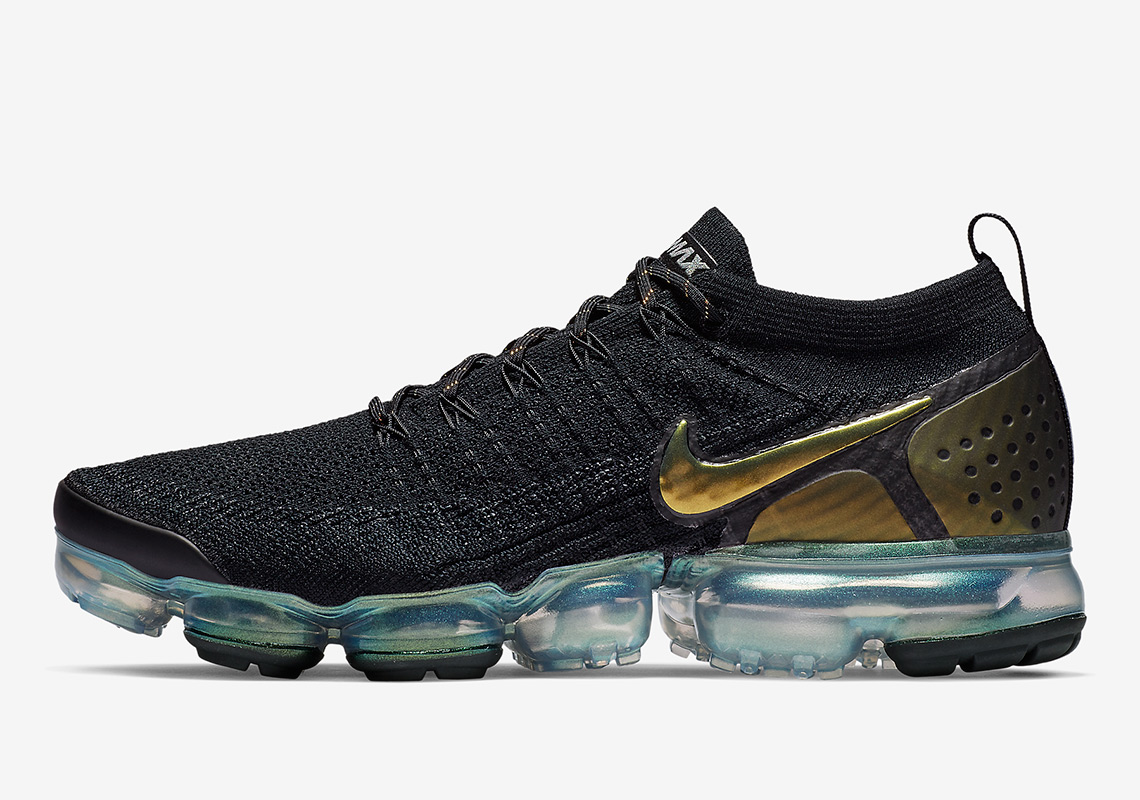 Another Black And Gold Take On The Nike Vapormax Flyknit 2 Is Here