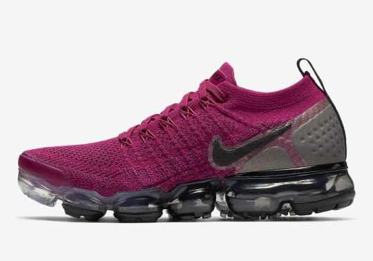 Nike's Vapormax Flyknit 2, Popular In Big Cities, Is Coming In Fuchsia