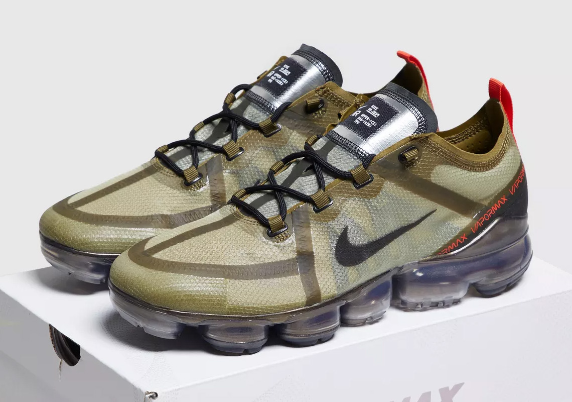 cac59d12c51f The Nike Vapormax 2019 Releases In Olive Green