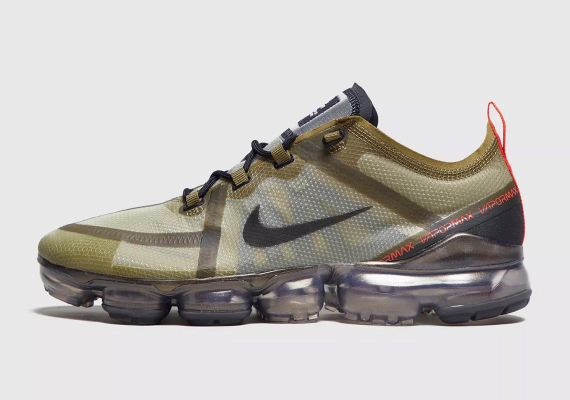 0da80d9bb57 Nike Vapormax 2019 Olive Green Release Info
