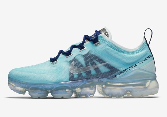 "The Nike Vapormax 2019 ""Teal Tint"" Is Coming Soon"