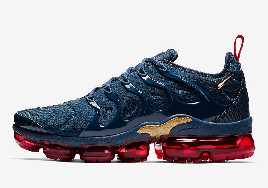 Nike Vapormax Plus Olympic 924453-405 Release Info  956e4dd18860a