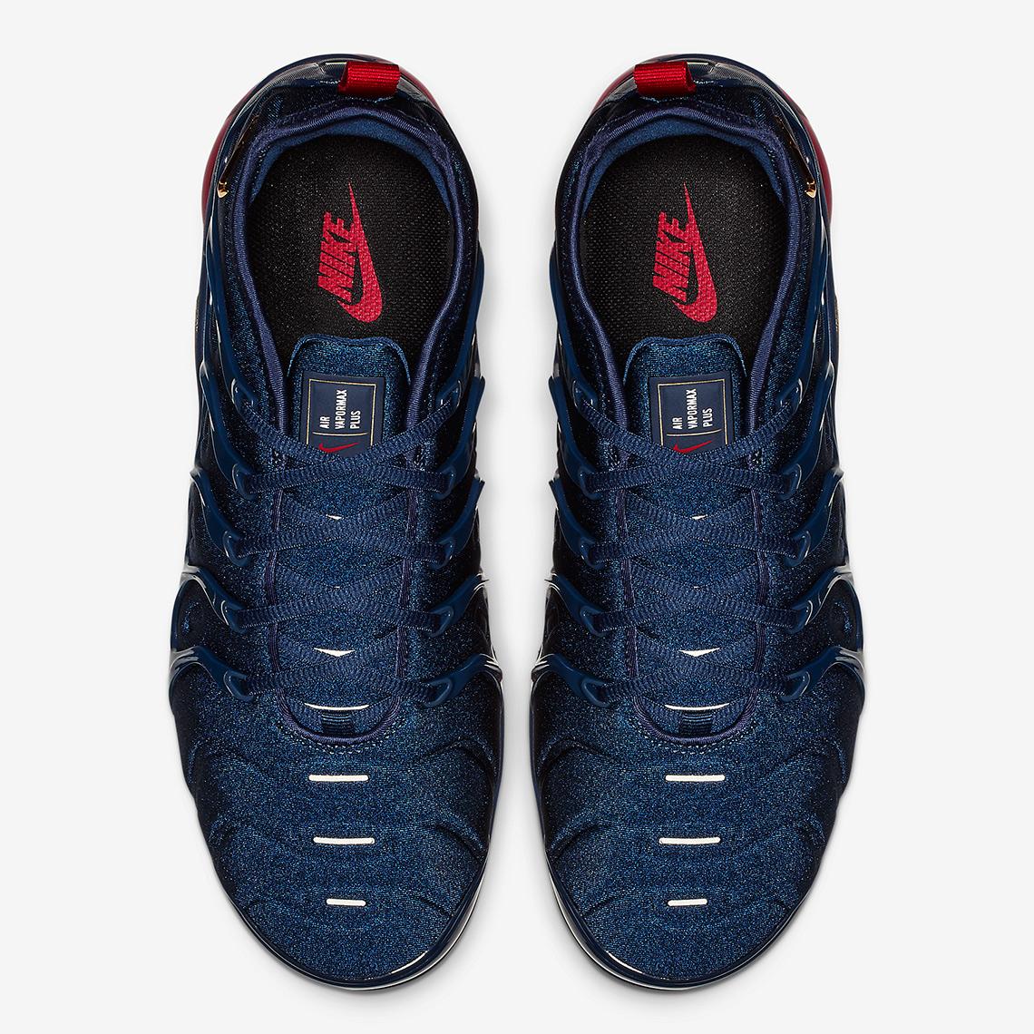 05a887b8fa2 Nike Vapormax Plus Olympic 924453-405 Release Info