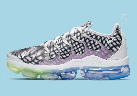 Nike's Vapormax Plus Arrives With More Grid Patterns and Gradients