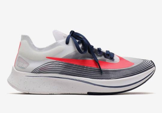 The Nike Zoom Fly SP Gets A Red, White, And Blue Makeover