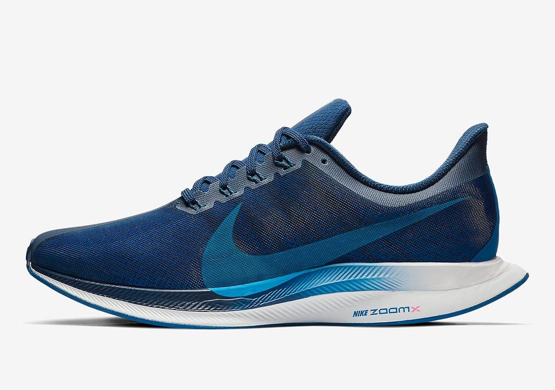 74539c07906 The Nike Zoom Pegasus 35 Turbo Is Here In Navy Blue - SneakerNews.com