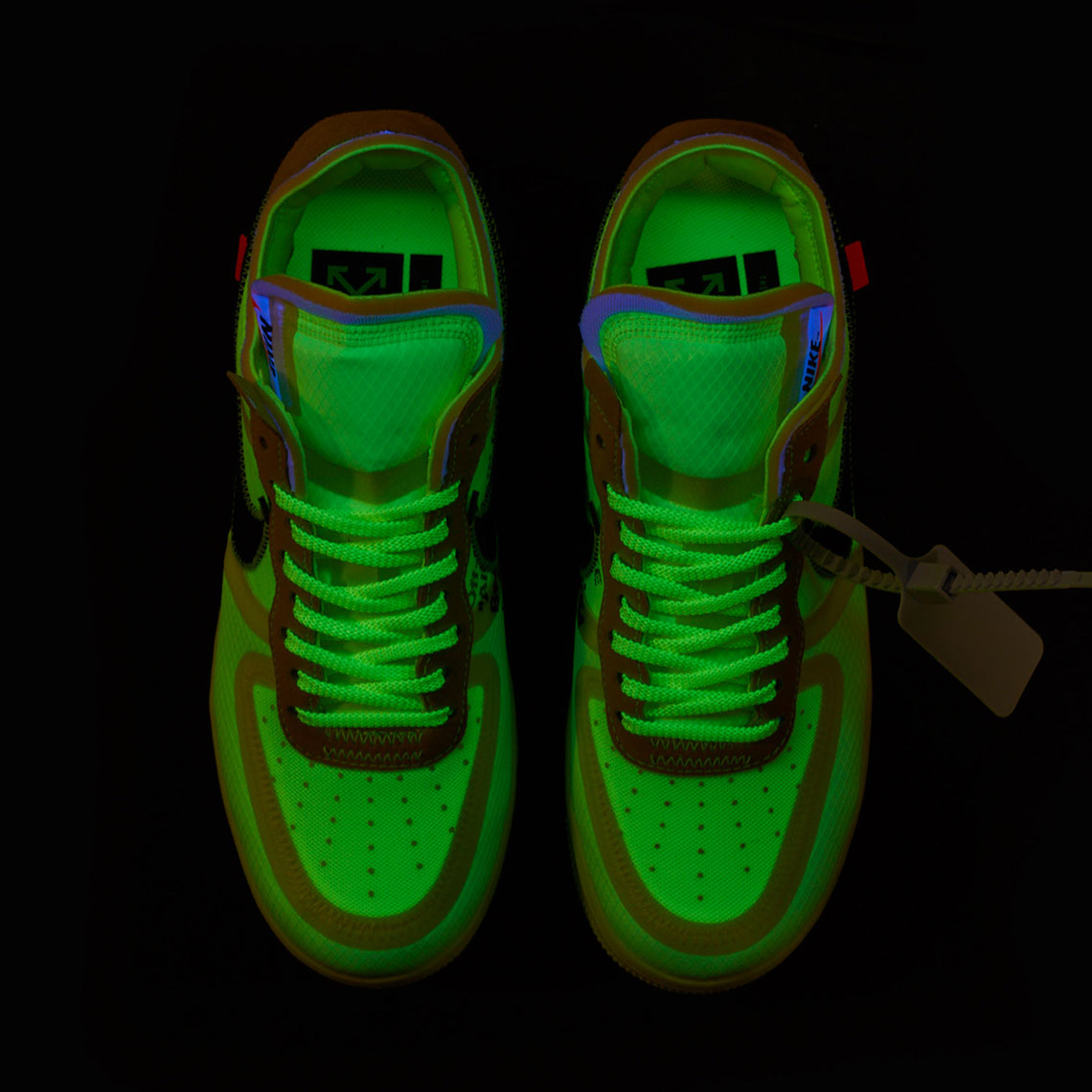 nike off white air force 1 volt restock