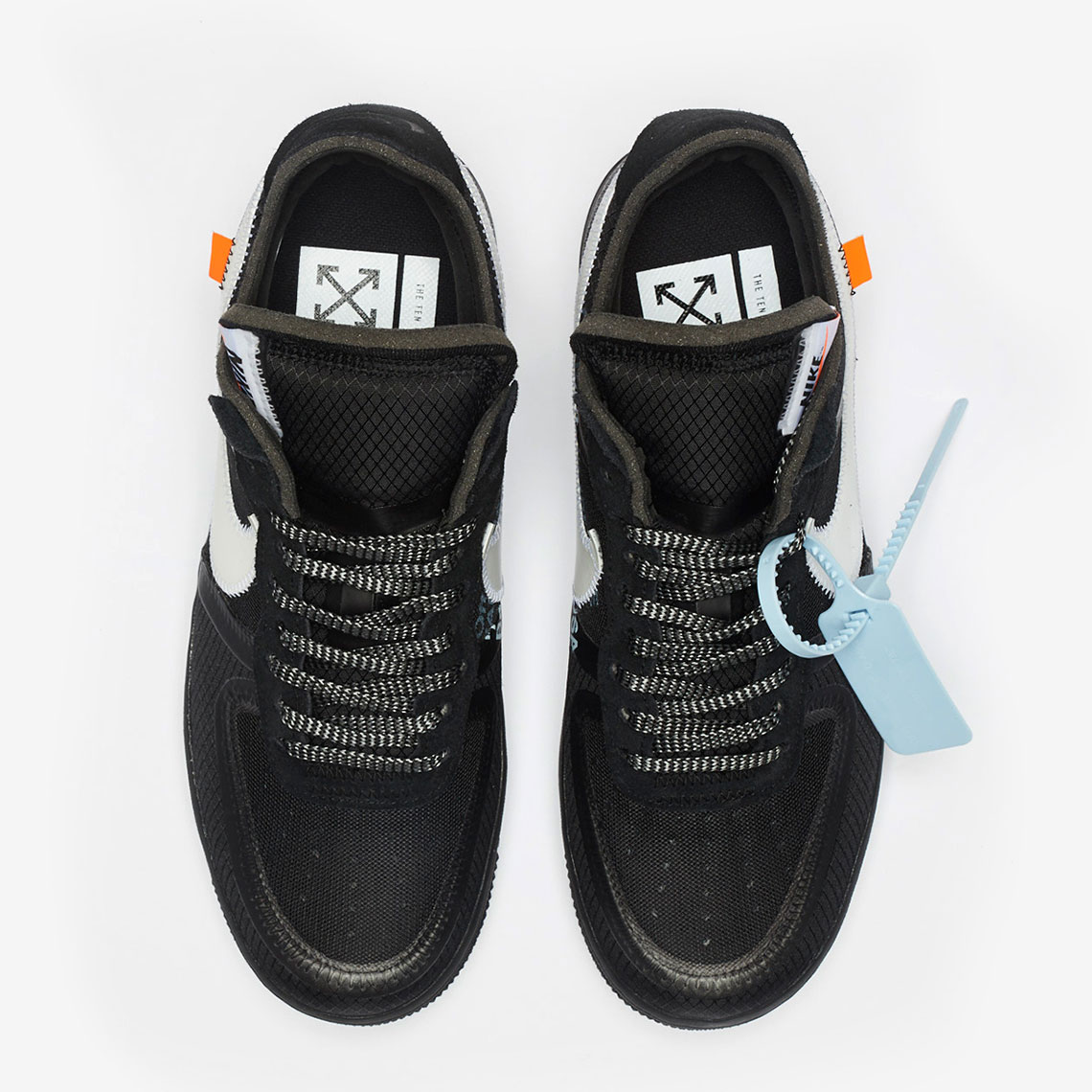 sports shoes 308bf 9e456 Off-White Nike Air Force 1 Black Store List | SneakerNews.com