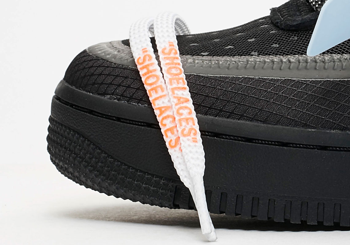 950527101d0c35 Off-White Nike Air Force 1 Black Store List