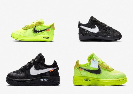 0d2c39dc81b571 Where To Buy The Off White Nike Air Force 1 For Toddlers Little Kids