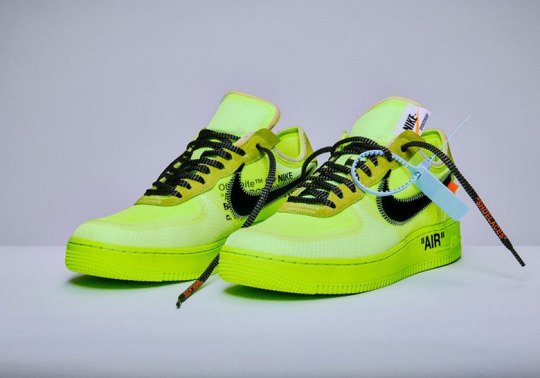 Where To Buy The Off-White x Nike Air Force 1 In Volt