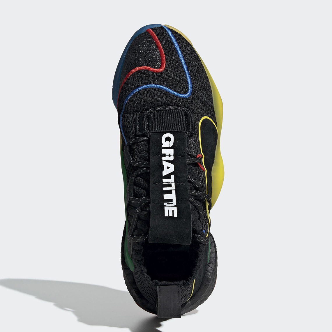 half off 86090 f1c0e Pharrell adidas Crazy BYW Gratitude Release Info  SneakerNew