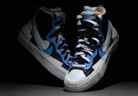 Sacai's Multi-Layered Nike Blazer Design Is Dropping In Early 2019