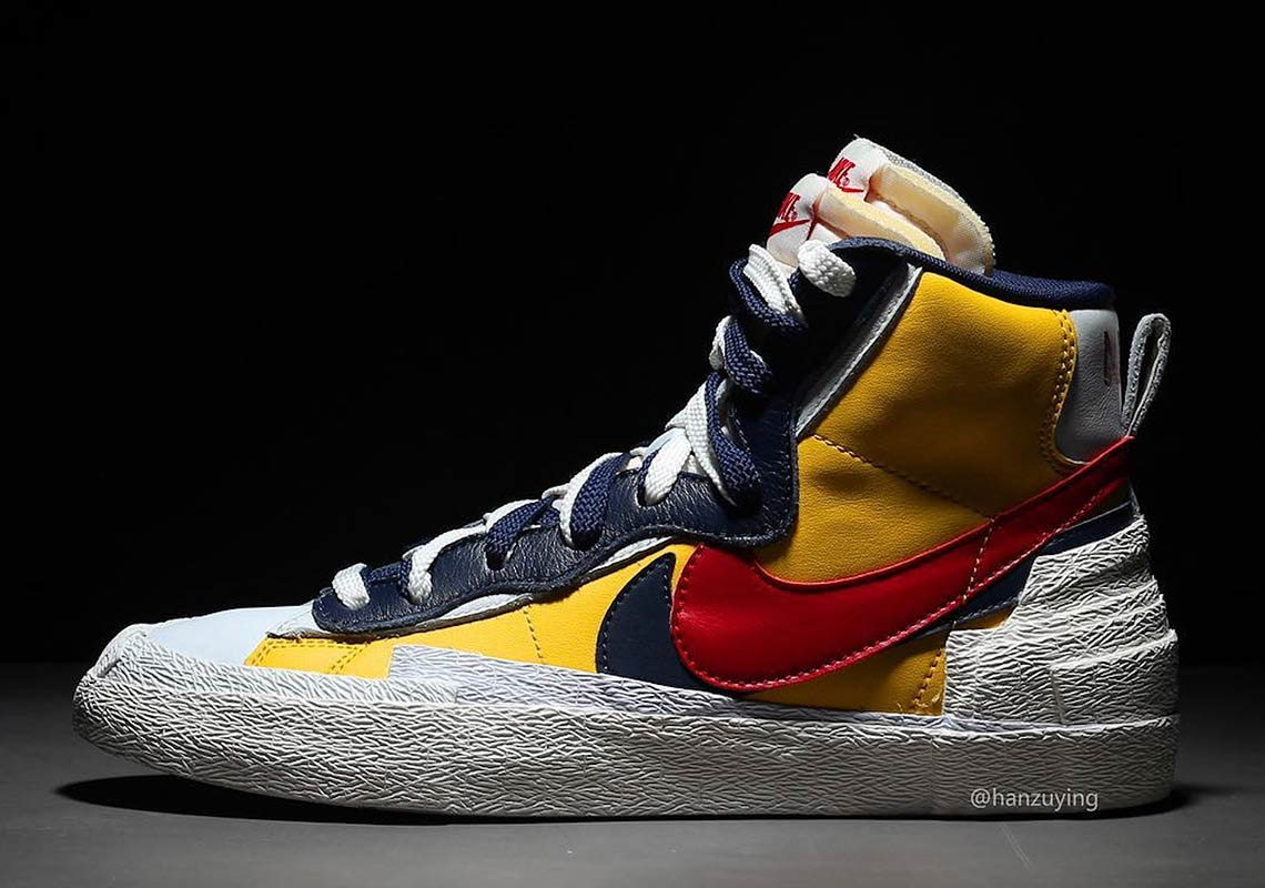Sacai Nike Blazer Mid First Look + Release Date ...