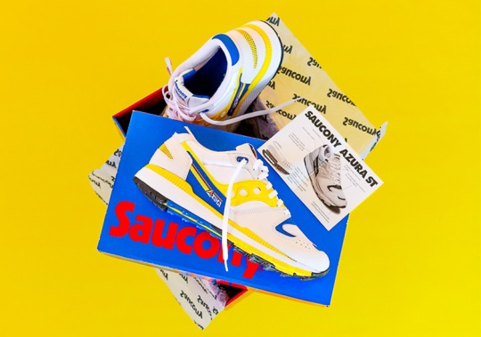 Saucony Originals Brings Back The Azura From 1988