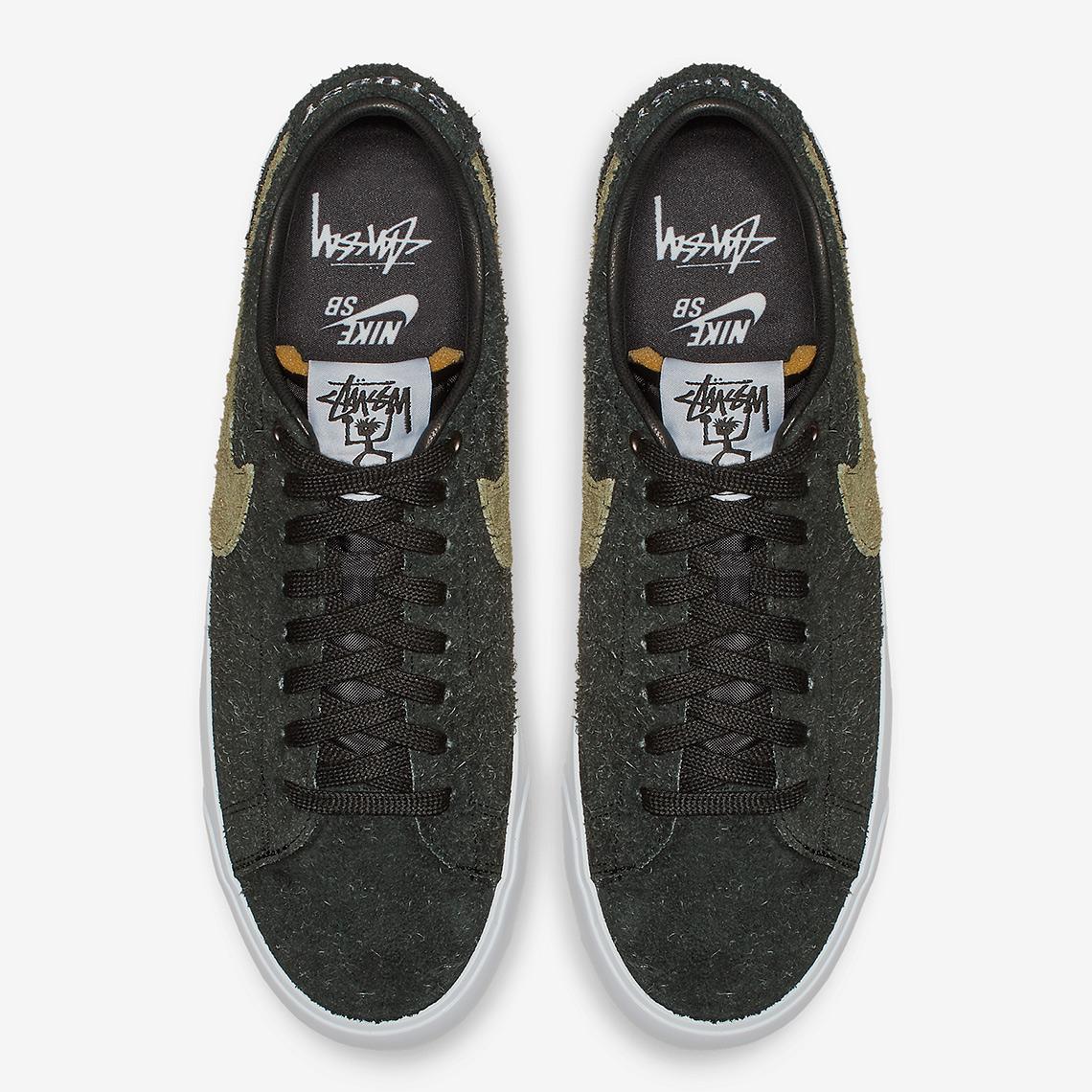 half off ca97d a4d80 Stussy Nike SB Blazer Low BQ6449-001 | SneakerNews.com