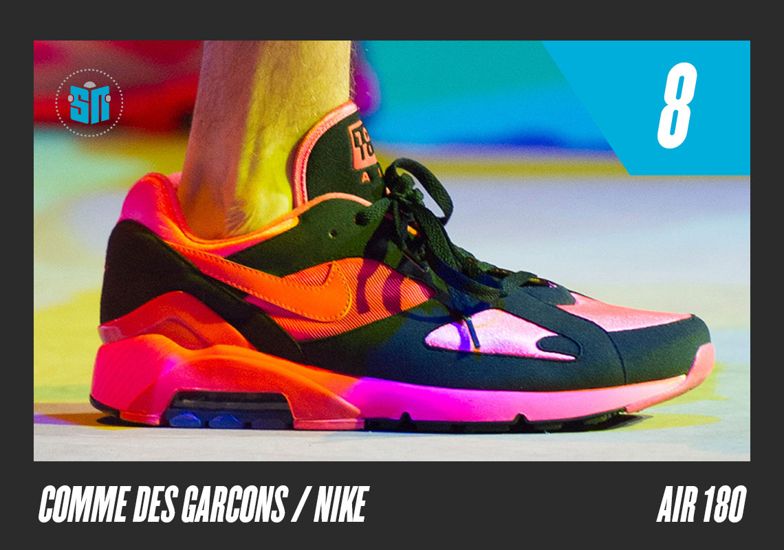 b5a8ce517e86f1 COMME des Garcons x Nike Air 180 It s just a simple color-up of the 180  model